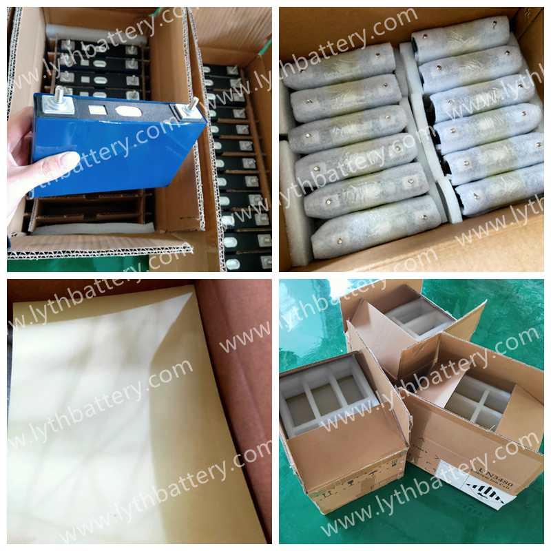 32pcs CALB 3.7v 50Ah NMC battery cells were shipped to Belarus